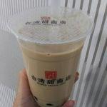 梅田阪急三番街の「台湾甜商店」のタピオカミルクティーをテイクアウトしてみた!その他の新メニューも!?
