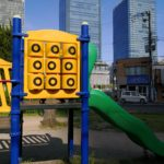 グランフロント大阪や梅田スカイビル近く『中津南公園』は子供連れにオススメ!